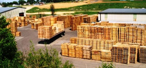 Exterior of Addoco - a pallet manufacturer