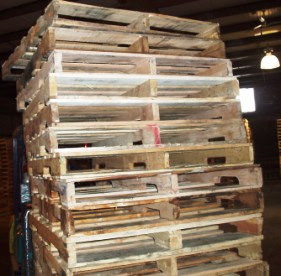 Wood pallet recycling is about repair and conservation